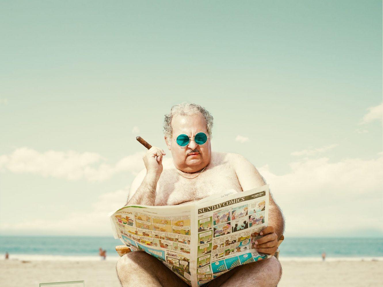 man of the beach dean bradshaw